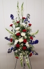 Order Patriotic Easel Spray