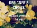 Order Designer Choice Arrangement
